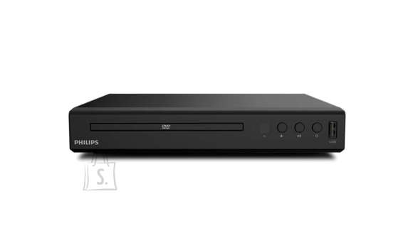 Philips Philips DVD player TAEP200/12 CD, CD-R/RW, DVD, DVD+R/RW, DVD-R/RW, DivX, JPEG, MP3, WMA, HDMI output, USB input, 12-bit/108 MHz