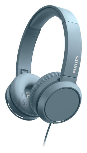 Philips Philips On-Ear Headphones with microphone TAH4105BL/00 32mm drivers/closed-back, Compact folding, Blue