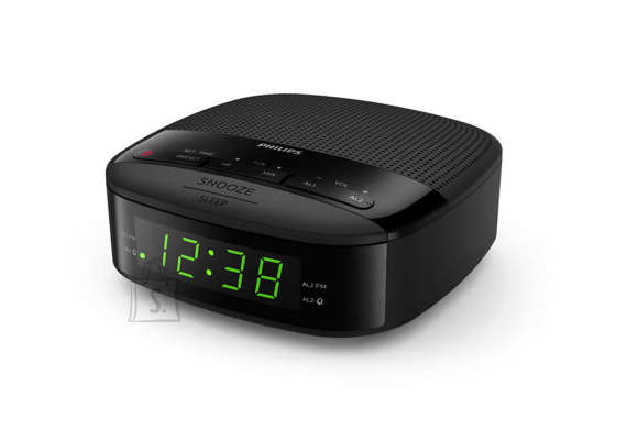Philips Philips Digital tuning clock radio TAR3205/12 FM tuner, sleep timer, dual alarm, AC powered, battery back-up