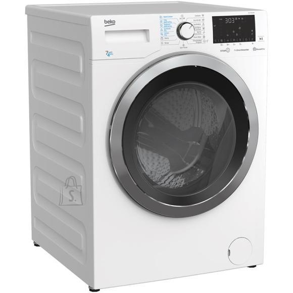 Beko BEKO Washing machine - Dryer HTE 7736 XC0 7kg - 4kg, 1400rpm, Energy class D (old A), Depth 50 cm, Inverter Motor, HomeWhiz, Steam Cure
