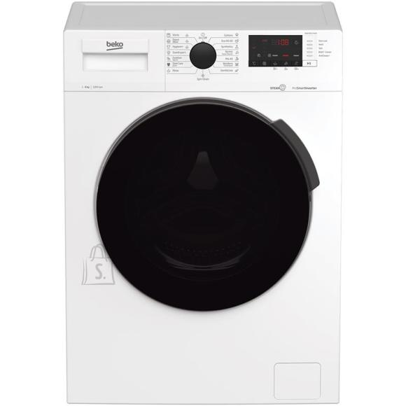 Beko BEKO Washing machine WUE 8622 XCW 8 kg, 1200 rpm, Energy class C (old A+++ (-10%)), Depth 55 cm, Inverter Motor, Steam Cure