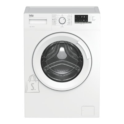 Beko BEKO Washing Machine WRE6512BWW, Energy class E (old A+++), 6kg, 1000rpm, Depth 44cm