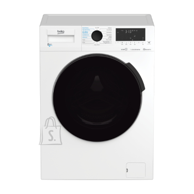 Beko BEKO Washing machine - Dryer HTV 8716 X0 8kg - 5kg, 1400rpm, Energy class D (old A), Depth 59 cm, Inverter Motor, HomeWhiz