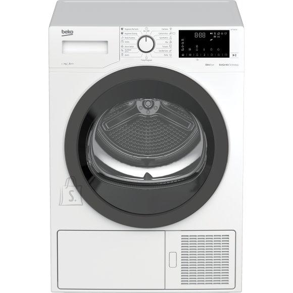Beko BEKO Dryer DF7412PA A++, 7kg, Depth 51cm, Heat Pump, LED Display