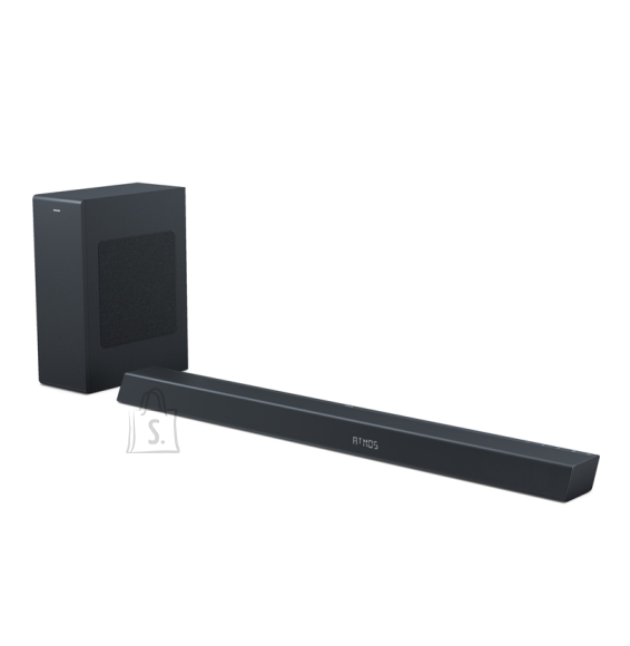 Philips Philips Soundbar speaker TAB8805/10, 400 W max. Built-in subwoofer, Dolby Atmos??, DTS Play-Fi compatible, Connects with voice assistants