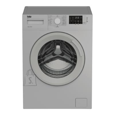 Beko BEKO Washing Machine WRE6512BSS, Energy class E (old A+++), 6kg, 1000rpm, Depth 44cm, Grey color