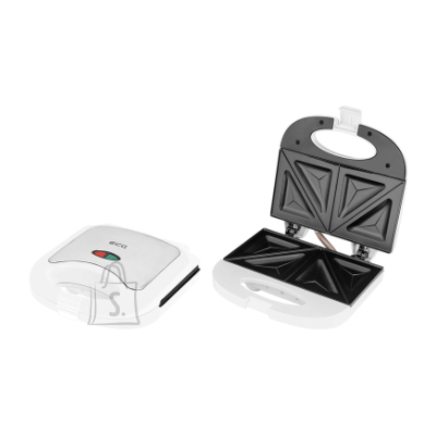 ECG ECG S 3271 Sandwich maker, 750W, Suitable for preparing 2 triangle toasts sandwiches