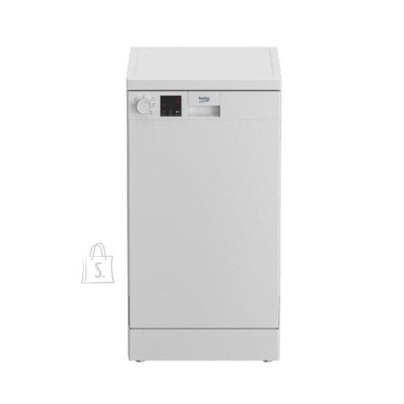 Beko BEKO Free standing Dishwasher DVS05024W, Energy class E (old A++), 45 cm, 5 programs, White
