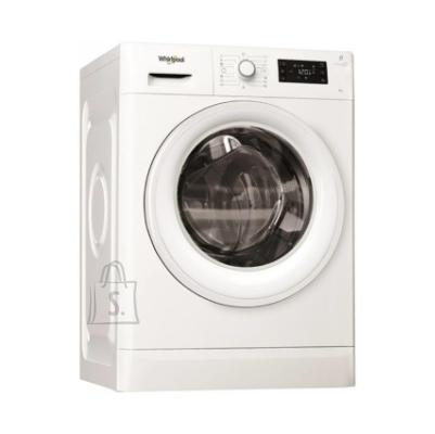 Whirlpool WHIRLPOOL Washing machine FWSG 61282 WV EE N 6kg, 1200 rpm, Energy class F (old A+++), Depth 43 cm, Steam Refresh