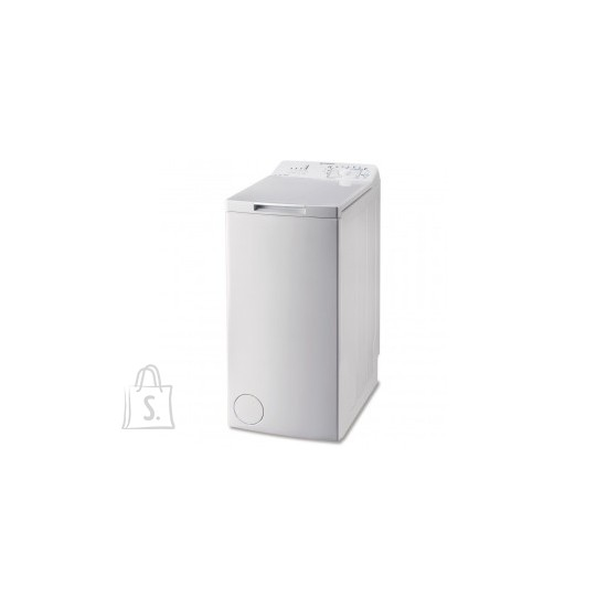 Indesit INDESIT Top load washing machine BTW L60300 EE/N, Energy class D (old A+++), 6kg, 1000 rpm, Depth 60 cm