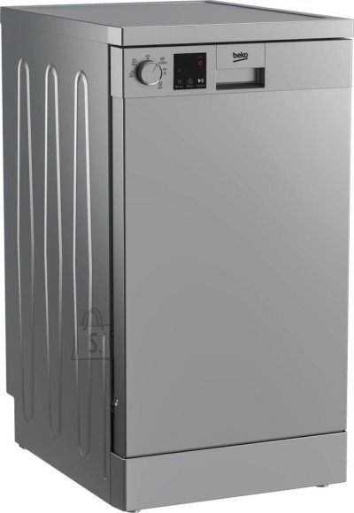Beko BEKO Free standing Dishwasher DVS05024S, Energy class E (old A++), 45 cm, 5 programs, Silver