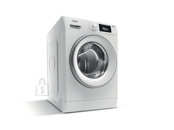 Whirlpool WHIRLPOOL Washing machine FWSD 81283 SV EE N, Energy class D (old A+++), 8kg, 1200 rpm, Depth 48 cm, 6th Sense, Inverter Motor