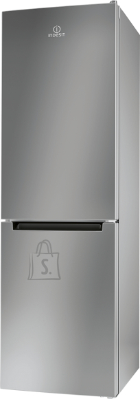 Indesit INDESIT Refrigerator LI8 S1E S, Energy class F (old A+), height 189cm, Silver color