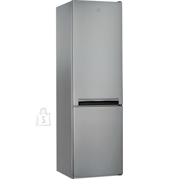 Indesit INDESIT Refrigerator LI9 S1E S, Energy class F (old A+), height 201cm, Silver color