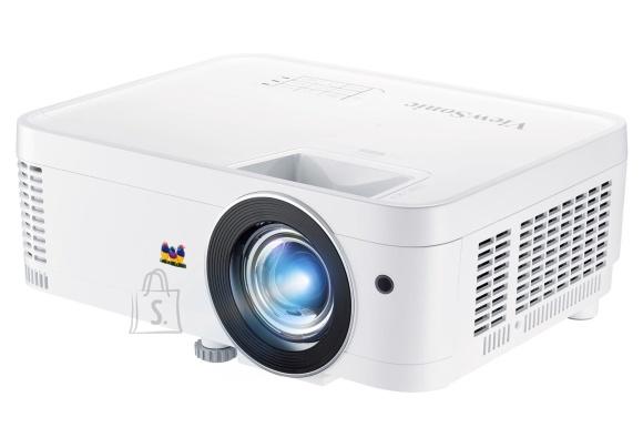 ViewSonic Full HD 1080p (1920x1080), 3000 lm, Short throw, 3X fast input, 2xHDMI, USB C (5V), exclusive SuperColor technology