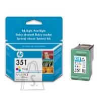 HP HP no.351 Tri-colour Inkjet Print Cartridge with Vivera Inks