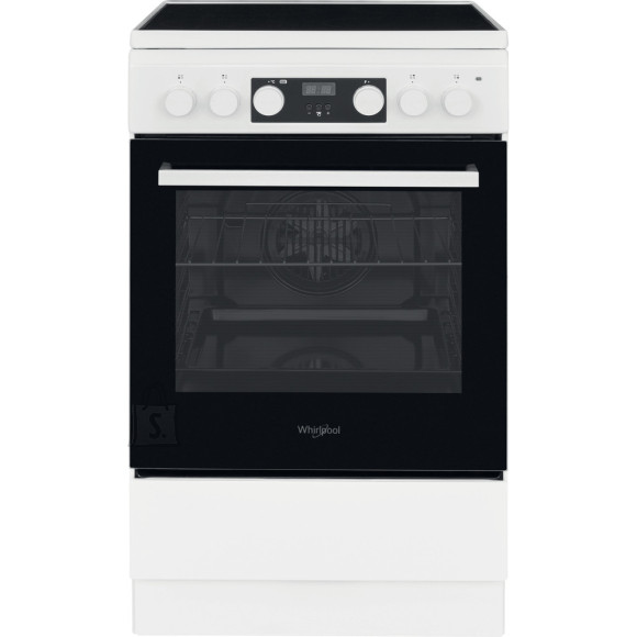 Whirlpool WHIRLPOOL Electric Cooker WS5V8CCW/E, Width 50 cm, White