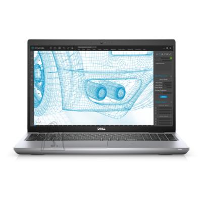 """Dell DELL Precision 3561 (i7-11800H 4.6Ghz, 15.6"""" FHD, 16GB (1x16GB), M.2 512GB SSD, Nvidia T1200 w/4GB, Eng Backlit KB, FgrPr & SmtCd, Win10 Pro, 3yrs)"""