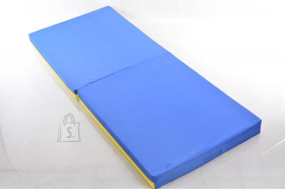 Võimlemismatt 66x160 cm sinine/kollane