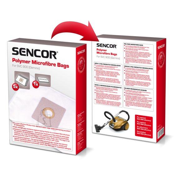 Sencor Tolmukott Sencor SVC900PF (5tk + mikrofilter)