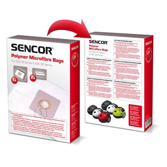 Sencor Tolmukott Sencor SVC45/52PF (5tk + 2 mikrofiltrit) 40023278