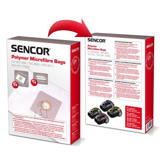 Sencor Tolmukott Sencor SVC8  (5tk +1 mikrofilter)