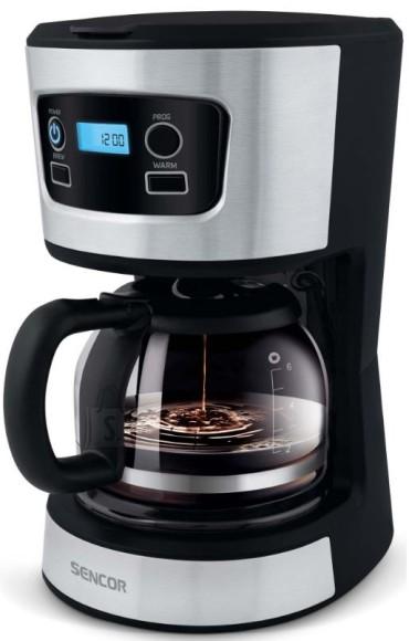 Sencor Taimeriga kohvimasin Sencor SCE3700BK