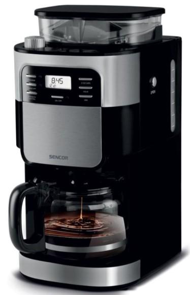 Sencor Kohvimasin integreeritud veskiga Sencor SCE7000BK