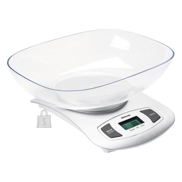 Sencor Köögikaal eemaldatava kausiga Sencor SKS4001WH, valge