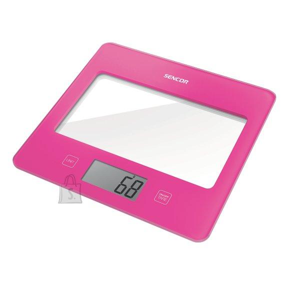 Sencor Värviline köögikaal klaaspinnaga Sencor SKS5028RS