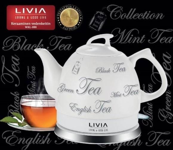 Livia Portselanveekeetja Livia WKL088