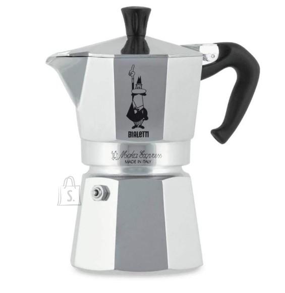 Bialetti Espressokann Bialetti Moka express 4 tassile