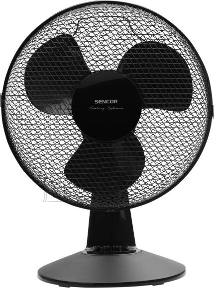 Sencor Ventilaator Sencor SFE3011BK, must