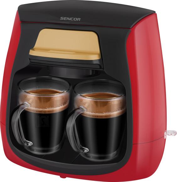 Sencor Kohvimasin Sencor kahele tassile SCE2101RD punane
