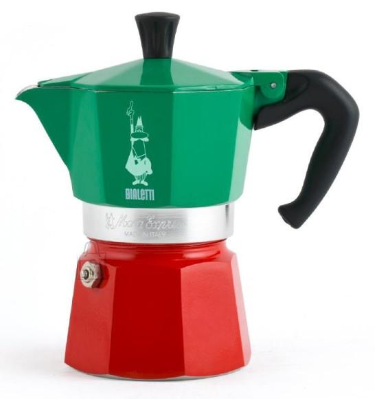 Bialetti Espressokann Bialetti Moka Express Italia 6 tassile