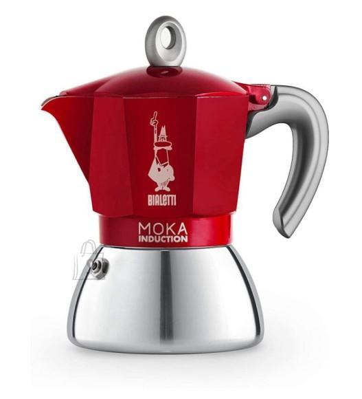 Bialetti Espressokann Bialetti Moka 6 tassile induktsioonpliidile punane