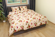 Dossa voodipesukomplekt Bordoo Rose 150x210 cm