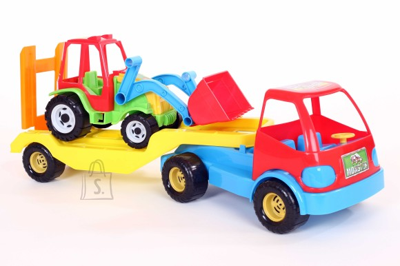 0162. Treiler koos traktoriga