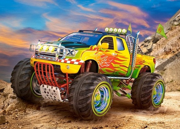 Castorland Puzzle 260 Monster Truck 27330
