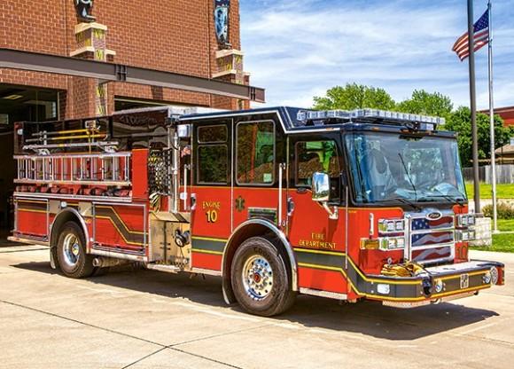 Castorland Puzzle 180 Fire Engine 18352