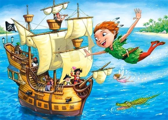 Castorland Puzzle 120 Peter Pan 13432