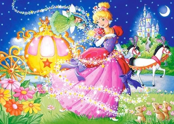 Castorland Puzzle 120 Cinderella 13395