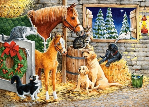 Castorland Puzzle 120 Gathering Friends 13340