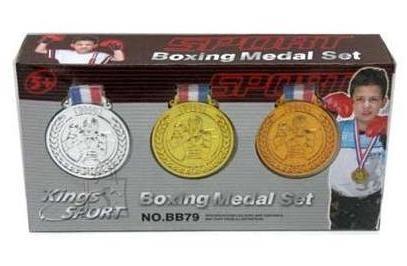 POKSIKINDAD + MEDALID BOXING MEDAL SET 10440