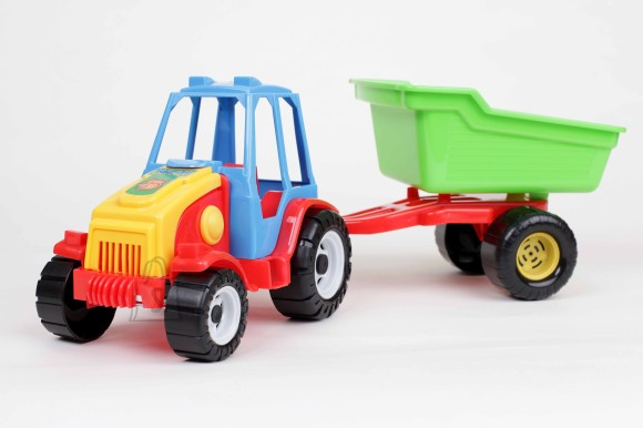 0163. Traktor+käru