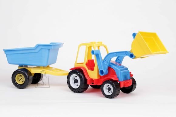Traktor sahaga + käru 0157