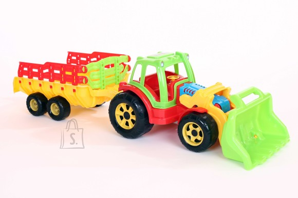 Traktor sahaga + käru Raider 3792