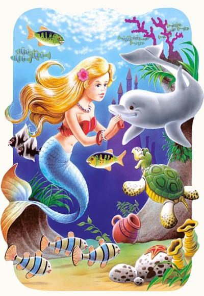 Castorland Puzzle 30 Väike merineitsi 03273