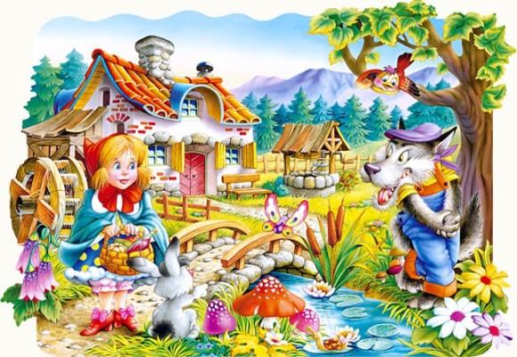 Castorland Puzzle 20 Punam��tsike ja hunt 02030