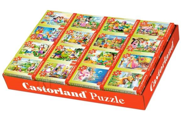 Castorland Puzzle 54 B mini. Muinasjututeema